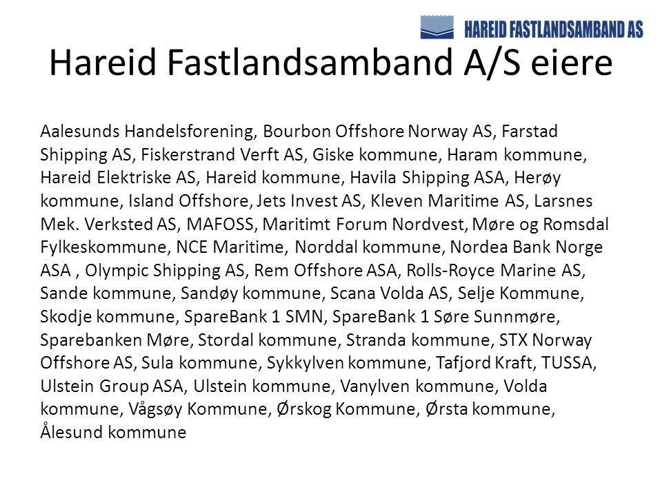 Hareid Fastlandsamband A/S eiere