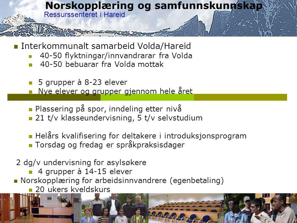 Norskopplæring og samfunnskunnskap