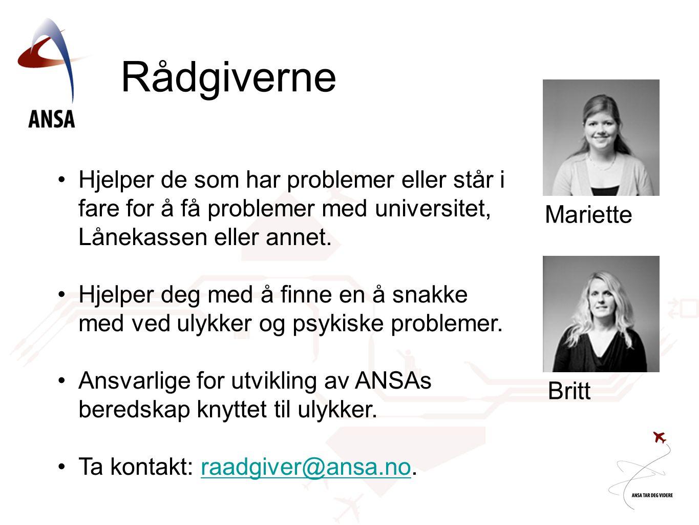 Rådgiverne Mariette Britt