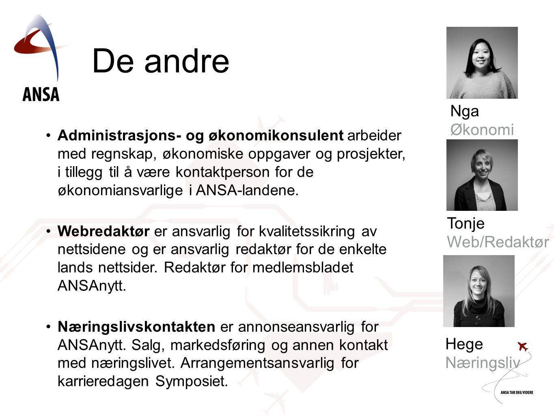 De andre Nga Økonomi Tonje Web/Redaktør Hege Næringsliv