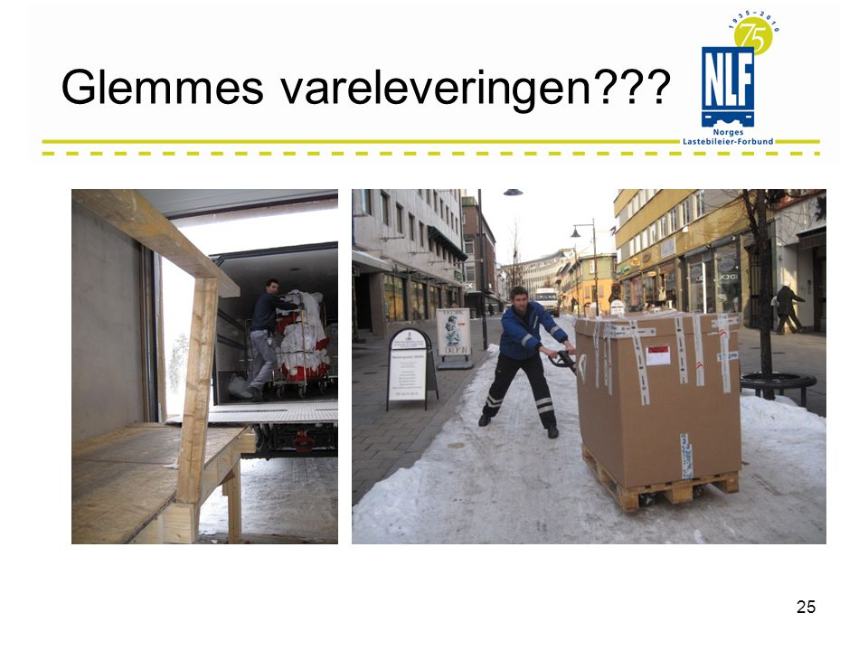 Glemmes vareleveringen