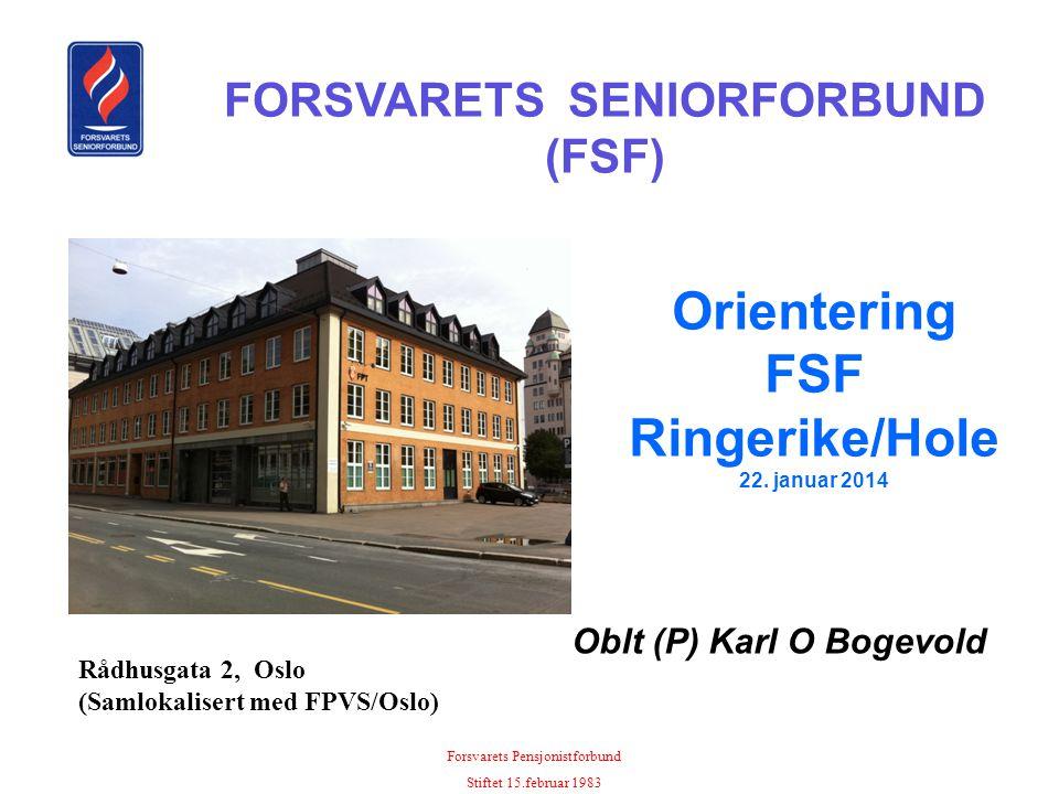 Orientering FSF Ringerike/Hole