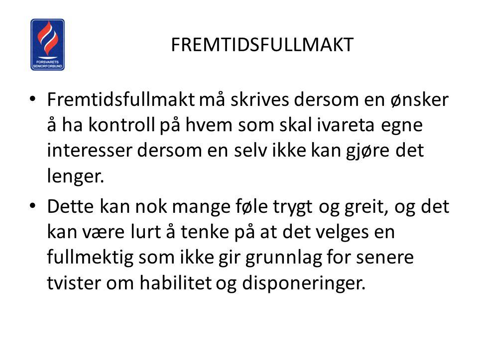 FREMTIDSFULLMAKT