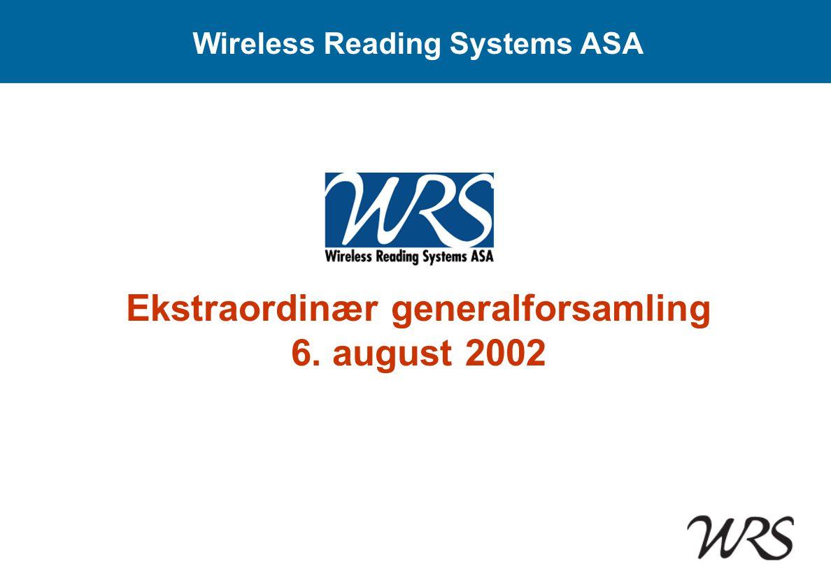 Wireless Reading Systems ASA