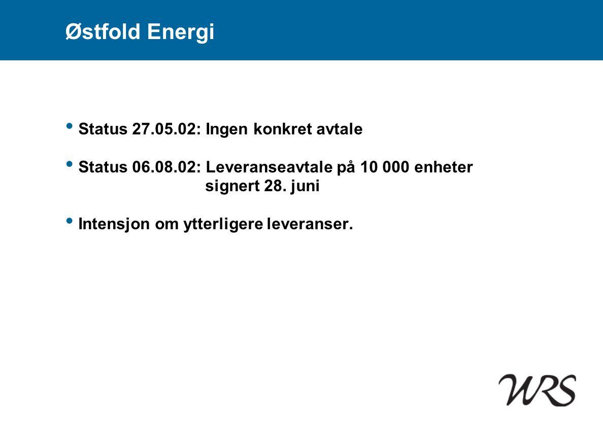 Østfold Energi Status 27.05.02: Ingen konkret avtale