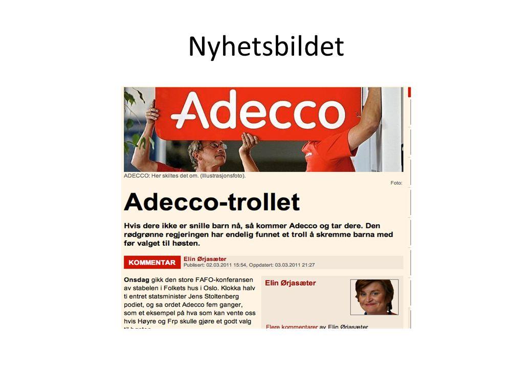 Nyhetsbildet Adecco – Den gode fiende.
