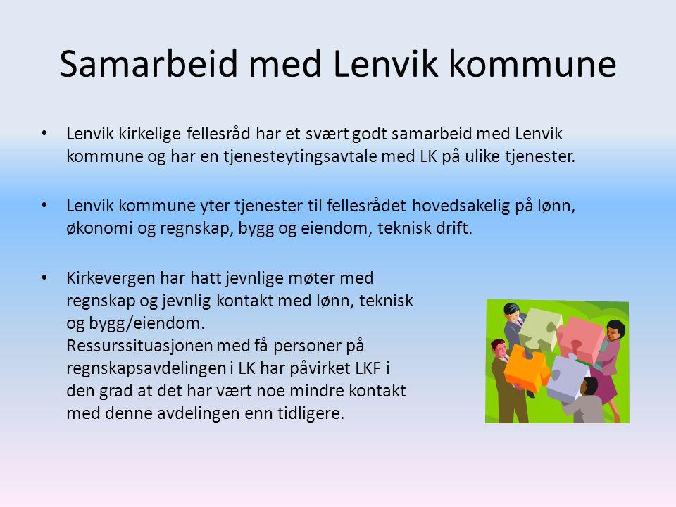 Samarbeid med Lenvik kommune