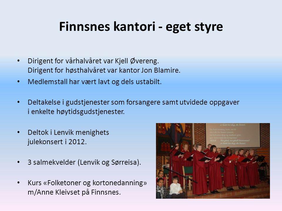 Finnsnes kantori - eget styre
