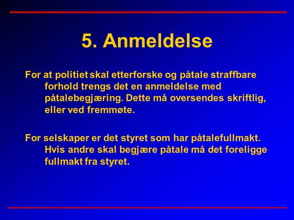 5. Anmeldelse