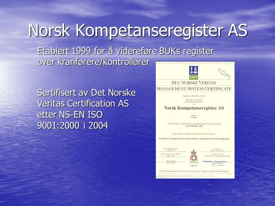 Norsk Kompetanseregister AS