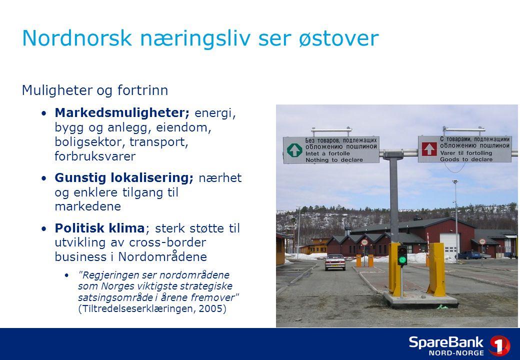 Nordnorsk næringsliv ser østover