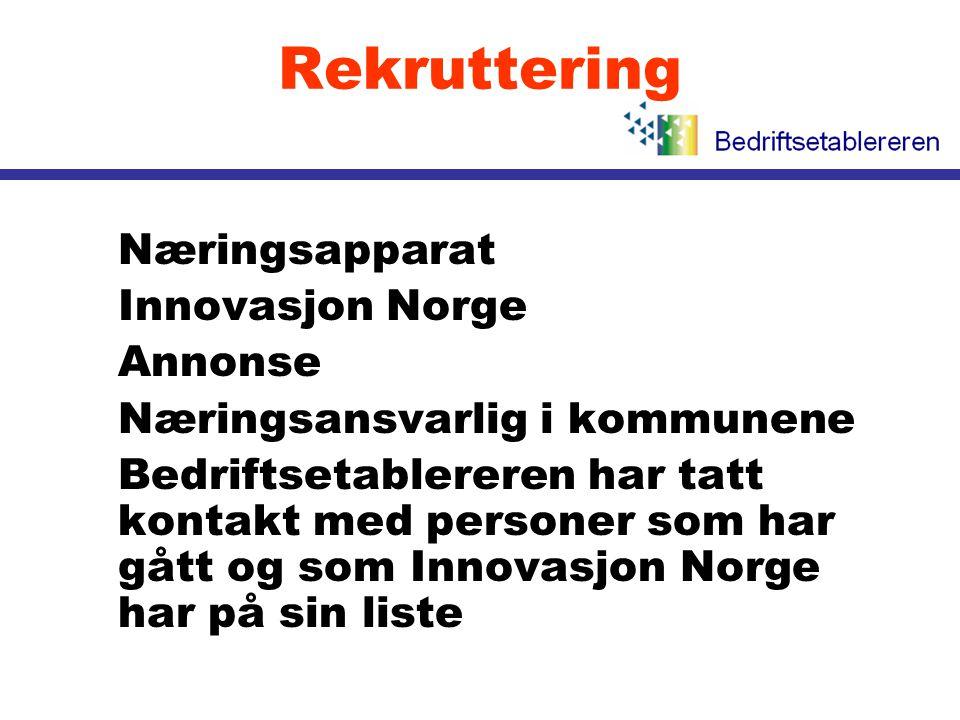 Rekruttering Næringsapparat Innovasjon Norge Annonse