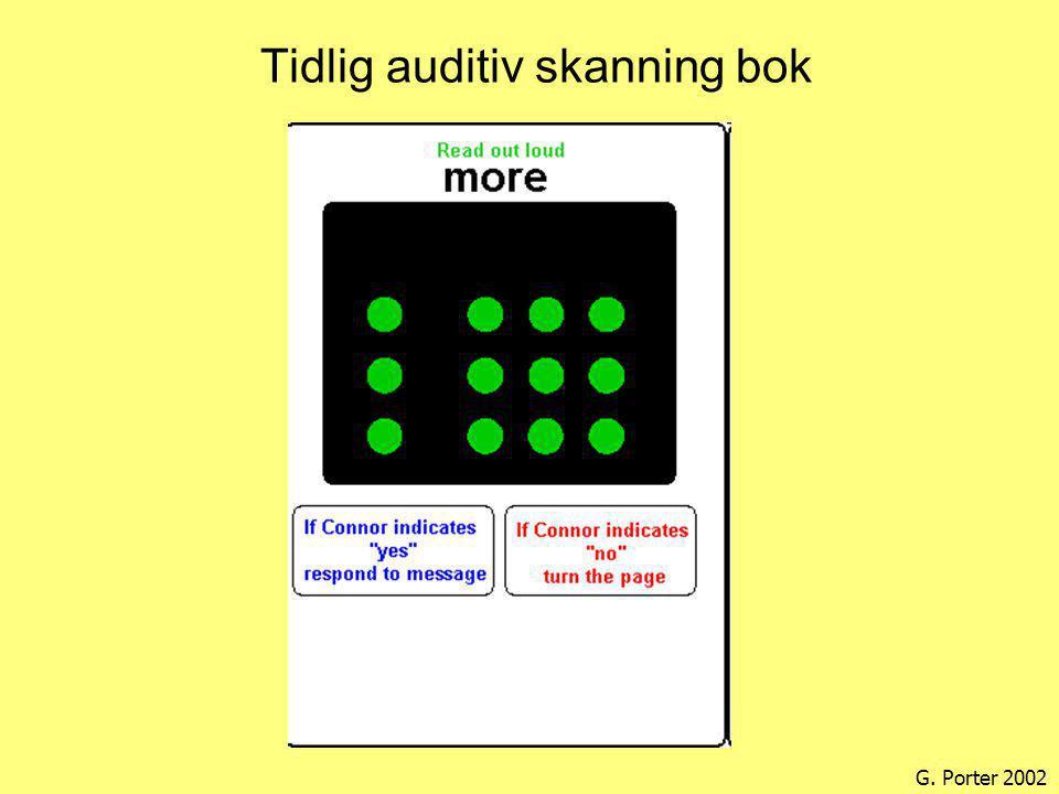 Tidlig auditiv skanning bok