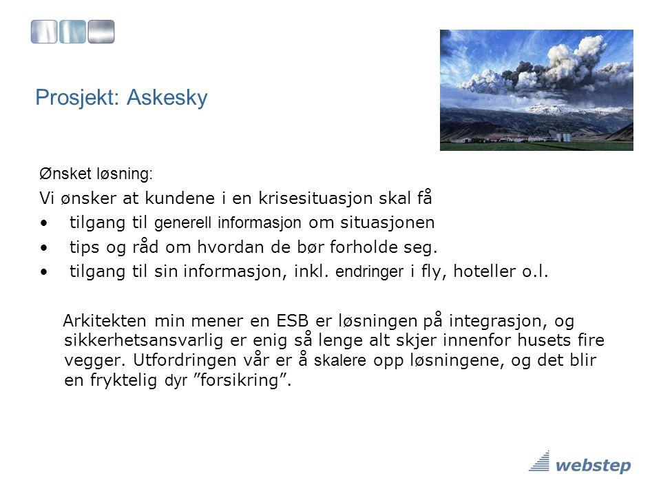 Prosjekt: Askesky Ønsket løsning: