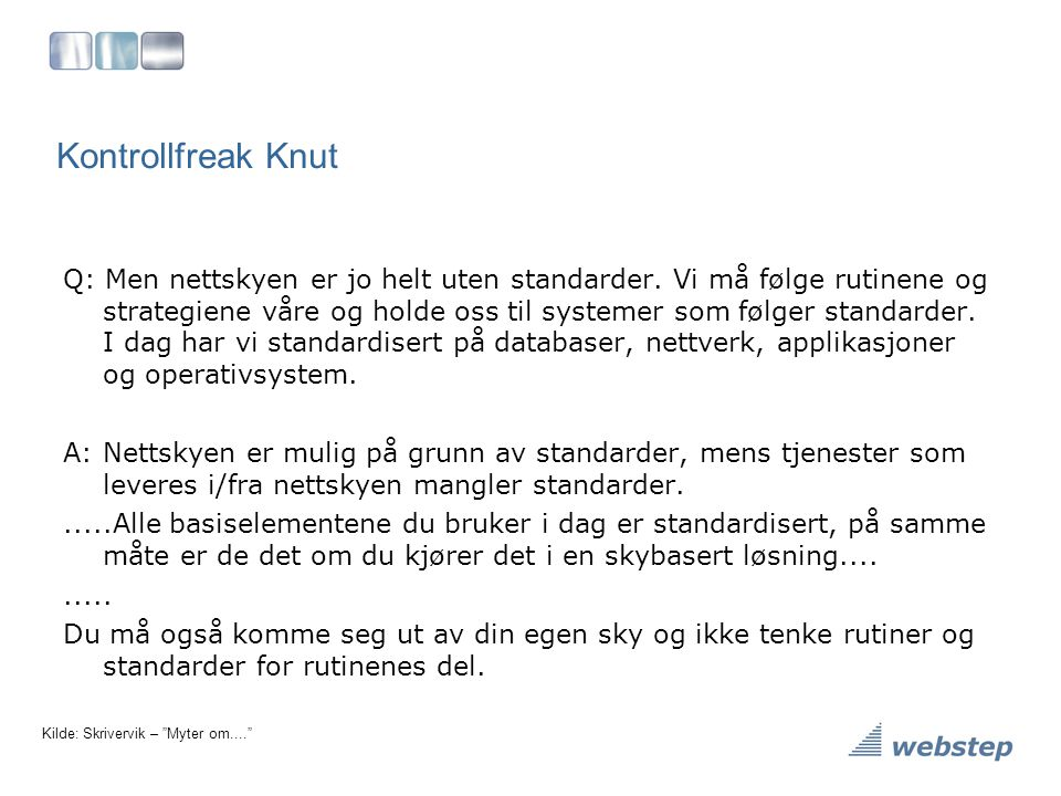 Kontrollfreak Knut
