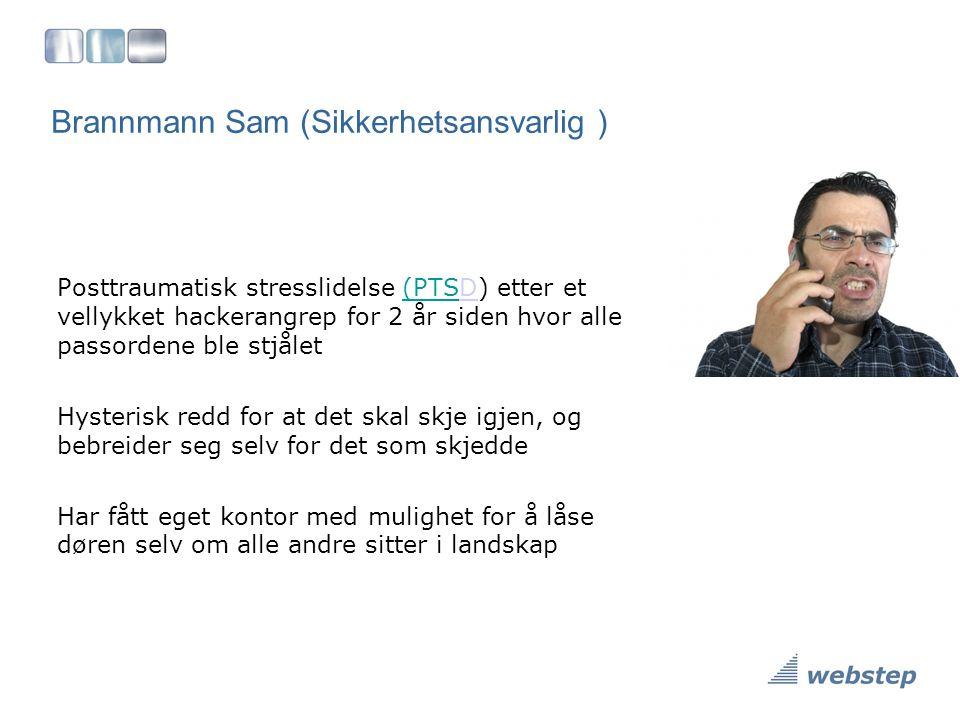 Brannmann Sam (Sikkerhetsansvarlig )