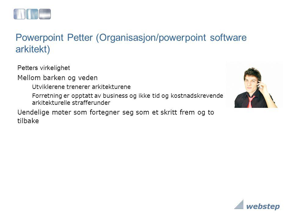 Powerpoint Petter (Organisasjon/powerpoint software arkitekt)