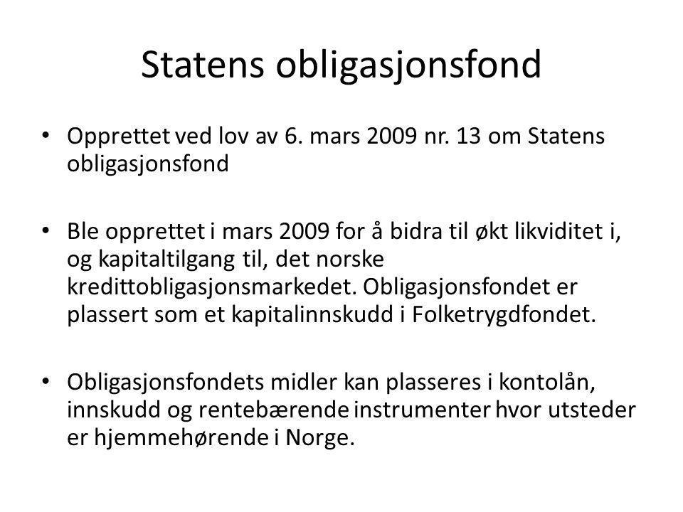 Statens obligasjonsfond