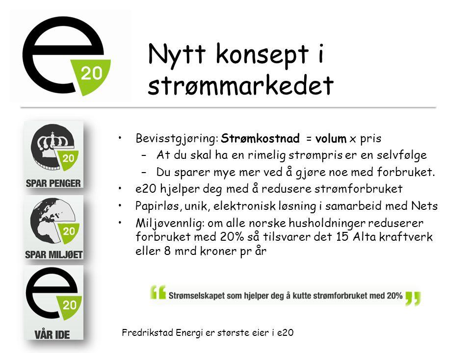 Nytt konsept i strømmarkedet
