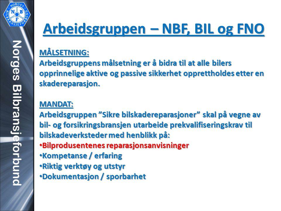 Arbeidsgruppen – NBF, BIL og FNO