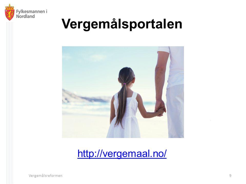 Vergemålsportalen http://vergemaal.no/ Vergemålsreformen