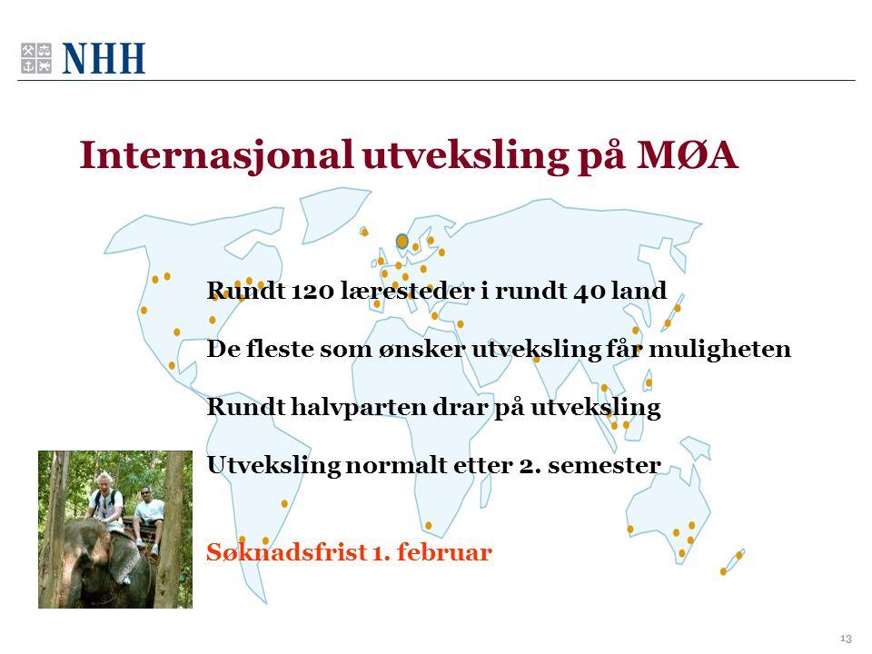 Internasjonal utveksling på MØA