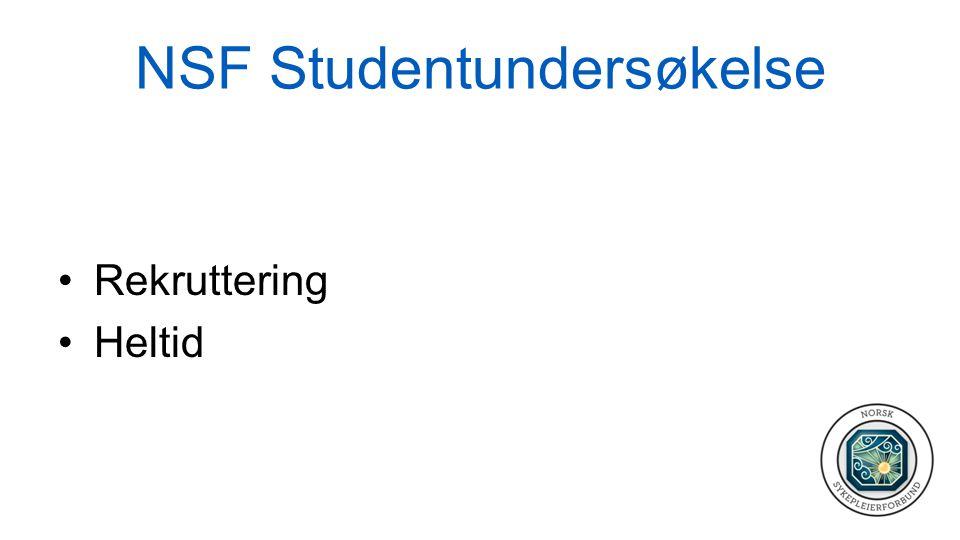 NSF Studentundersøkelse
