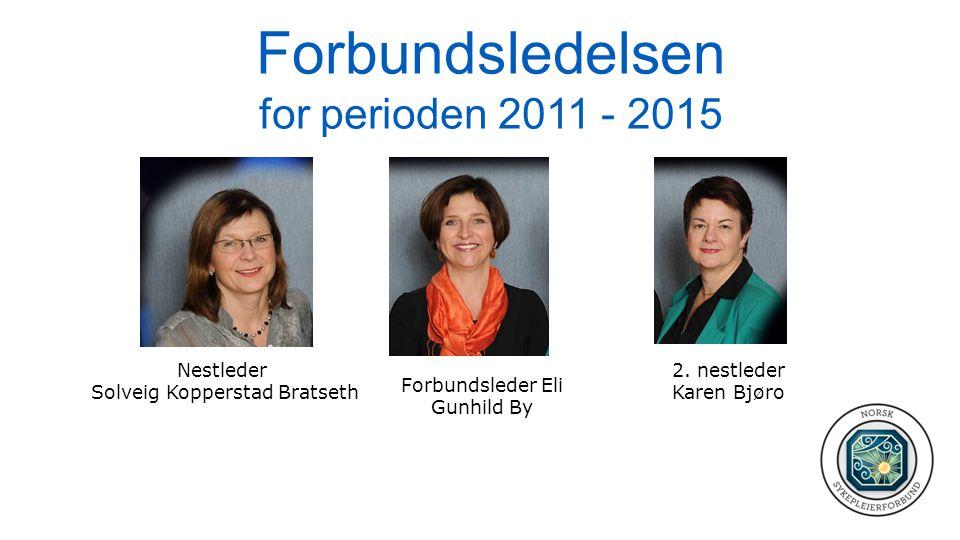 Forbundsledelsen for perioden 2011 - 2015