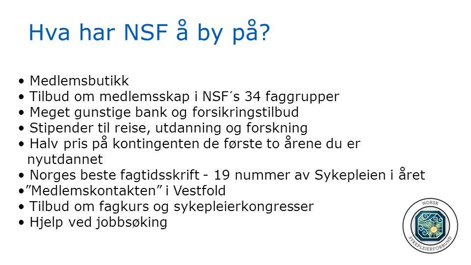 Hva har NSF å by på Medlemsbutikk