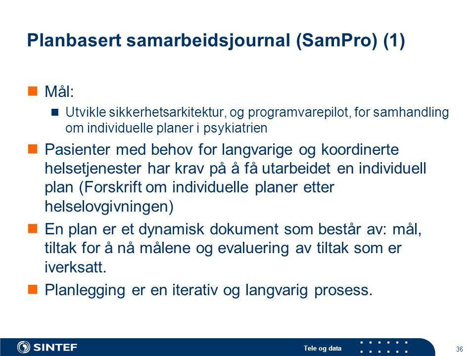 Planbasert samarbeidsjournal (SamPro) (1)