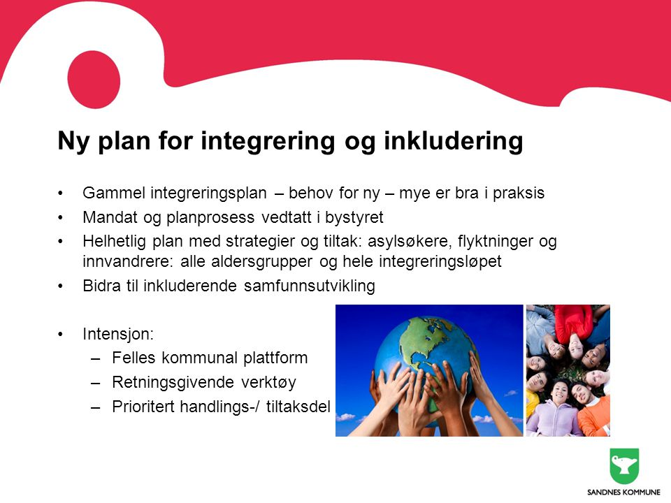 Ny plan for integrering og inkludering