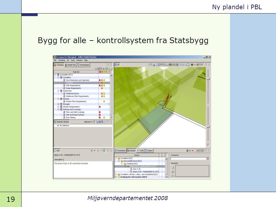 Bygg for alle – kontrollsystem fra Statsbygg