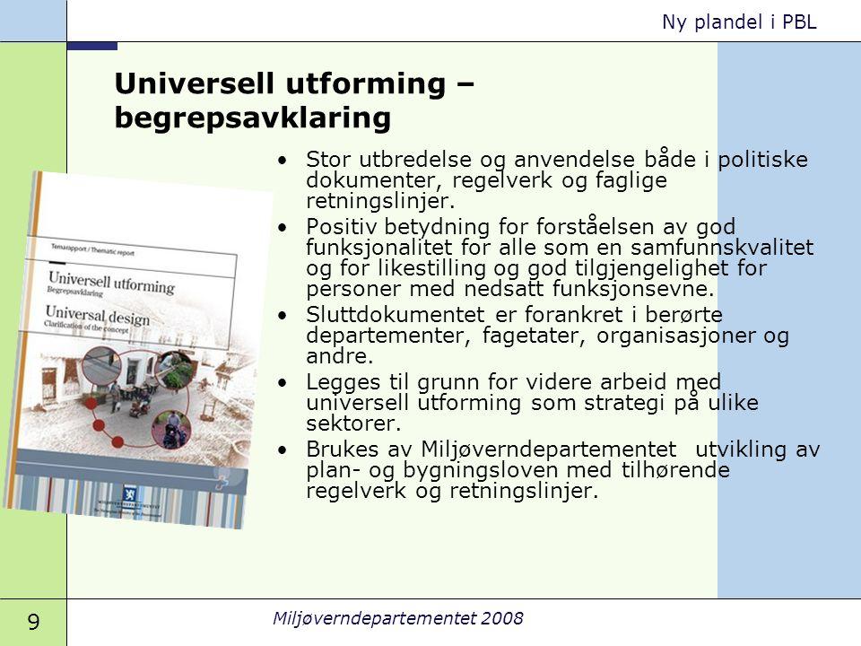 Universell utforming – begrepsavklaring