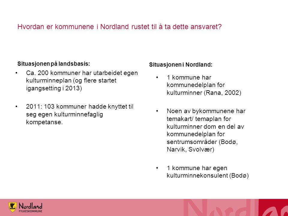 Hvordan er kommunene i Nordland rustet til å ta dette ansvaret