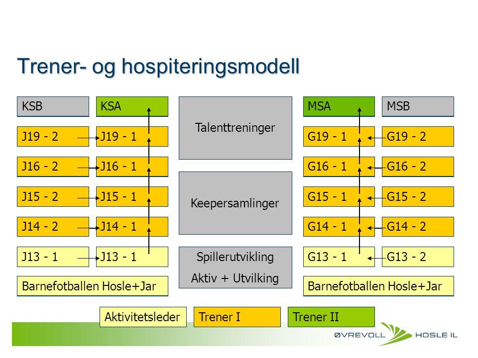 Trener- og hospiteringsmodell