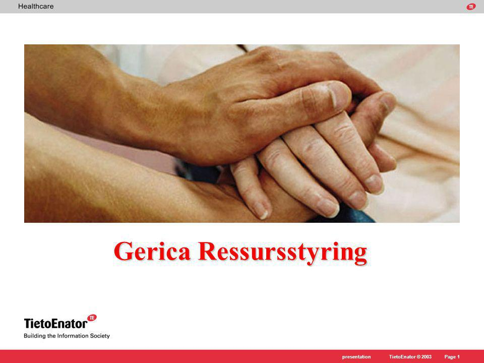 Gerica Ressursstyring