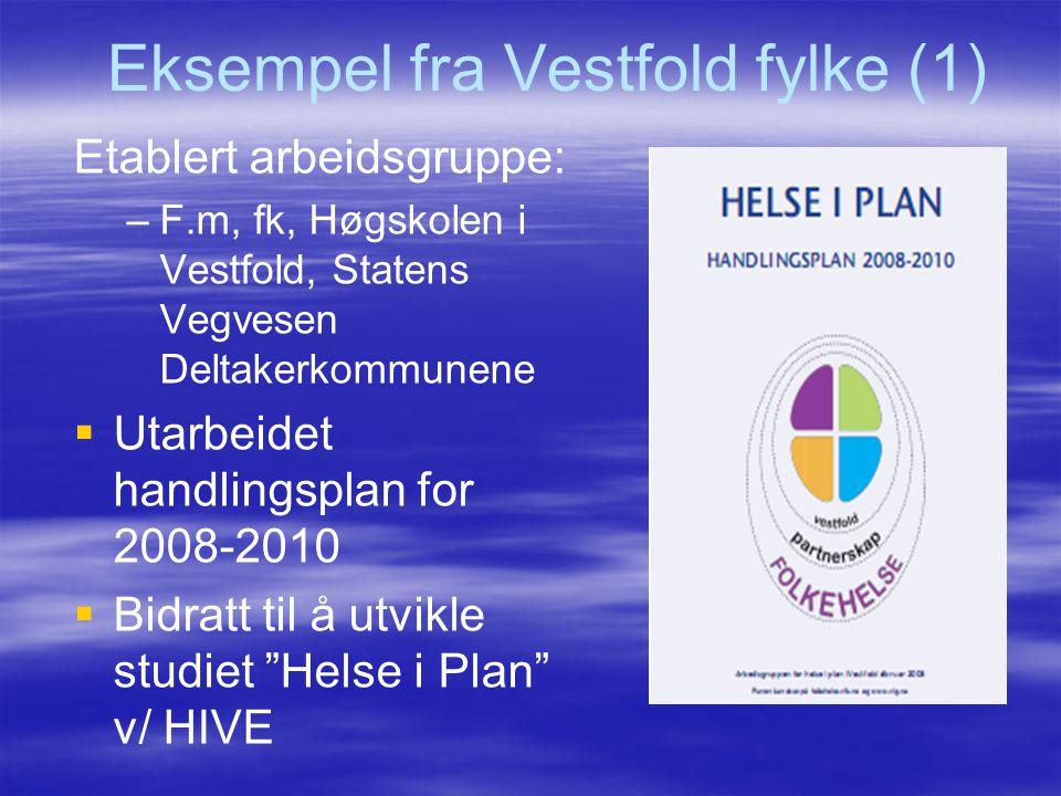 Eksempel fra Vestfold fylke (1)