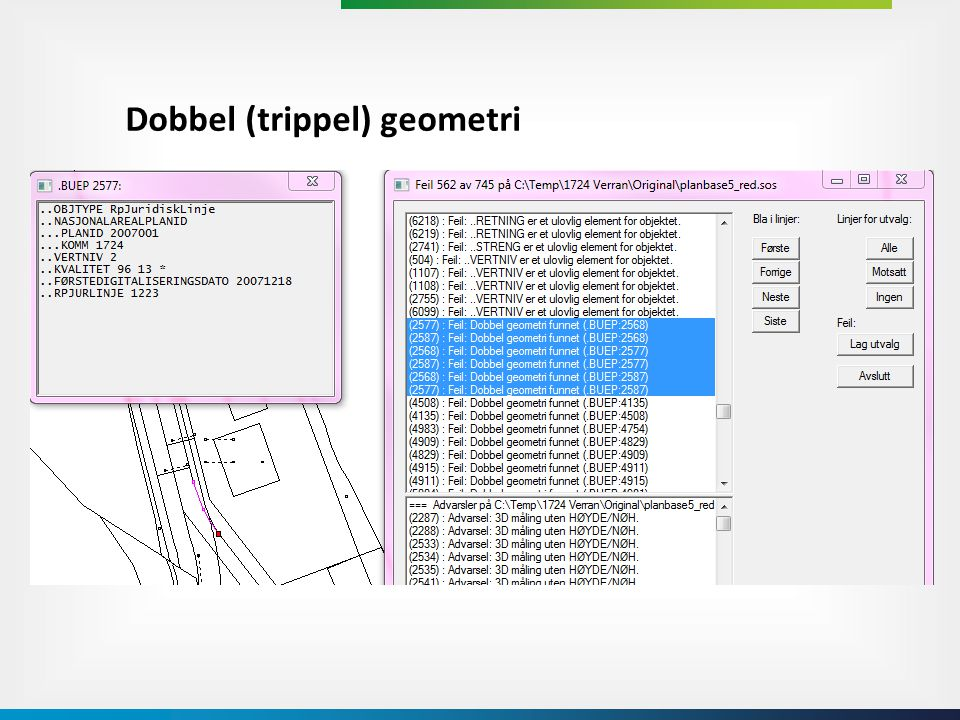 Dobbel (trippel) geometri