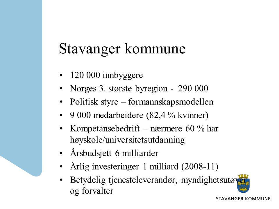 Stavanger kommune 120 000 innbyggere