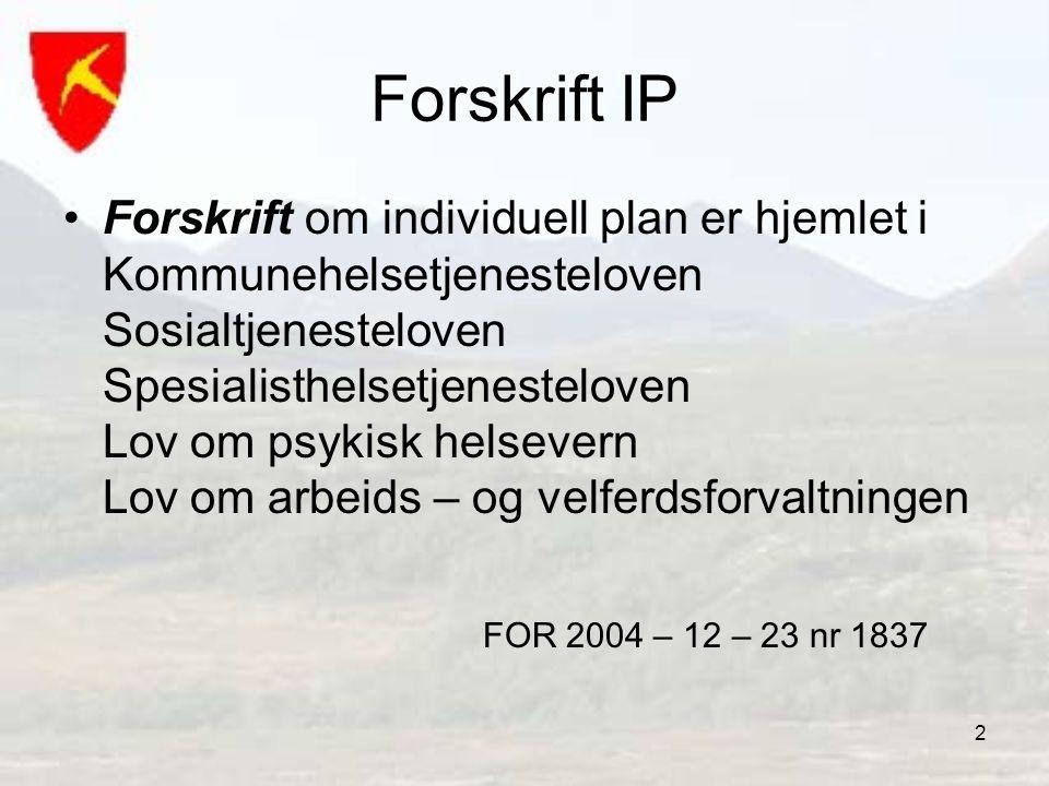 Forskrift IP