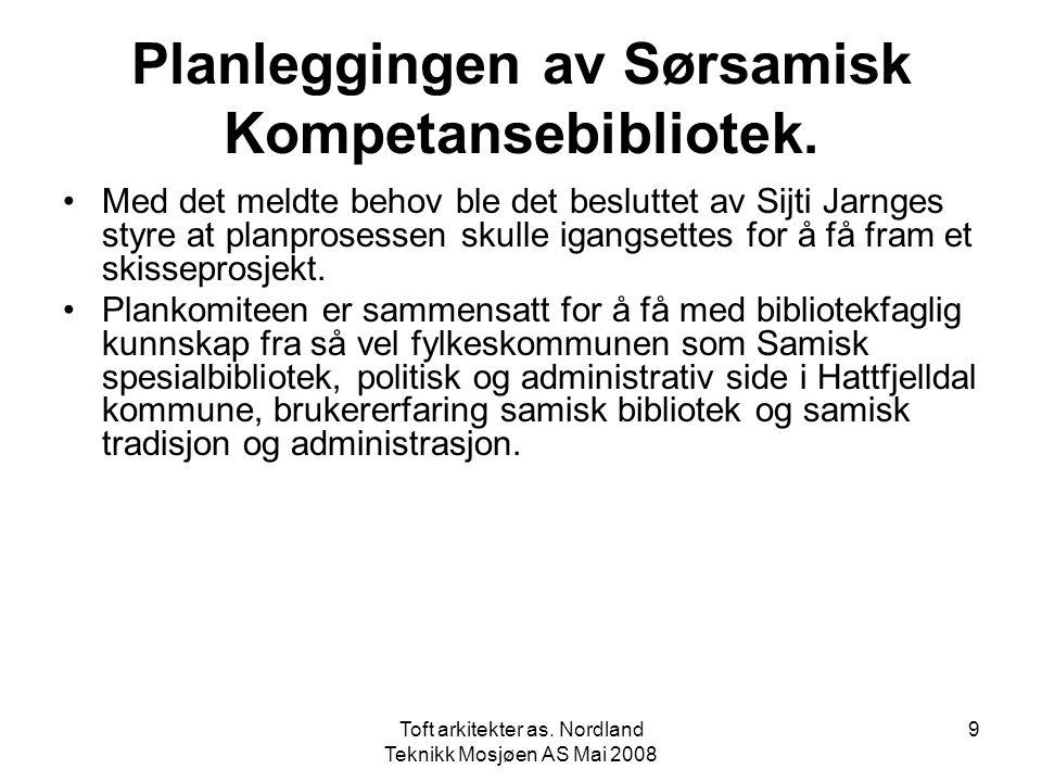 Planleggingen av Sørsamisk Kompetansebibliotek.