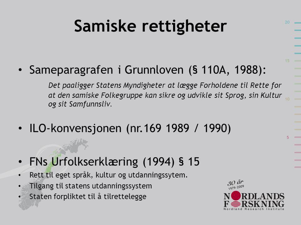 Samiske rettigheter