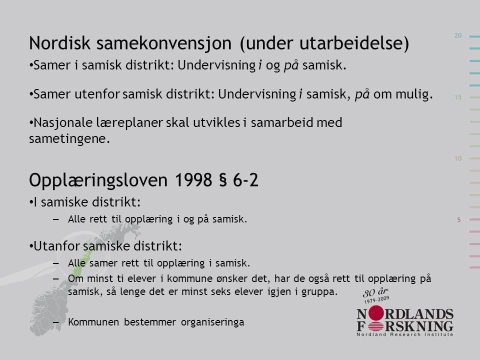 Nordisk samekonvensjon (under utarbeidelse)