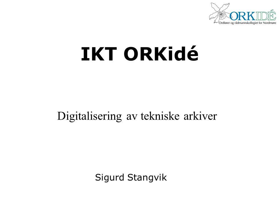 Digitalisering av tekniske arkiver