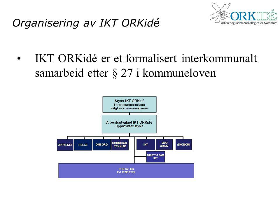 Organisering av IKT ORKidé