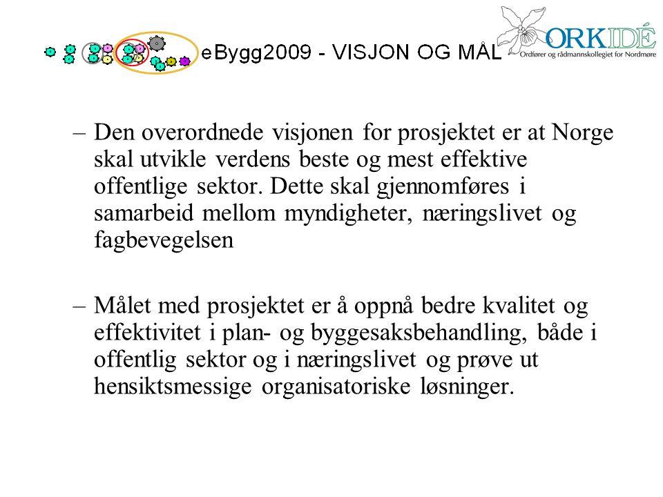 Den overordnede visjonen for prosjektet er at Norge skal utvikle verdens beste og mest effektive offentlige sektor. Dette skal gjennomføres i samarbeid mellom myndigheter, næringslivet og fagbevegelsen