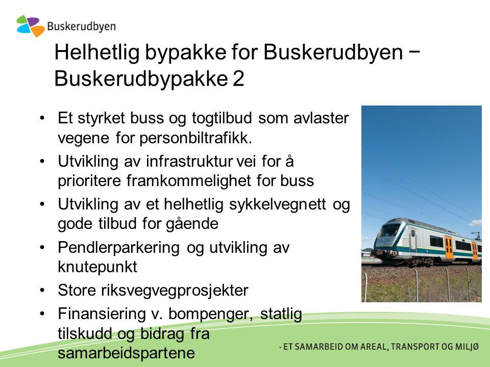 Helhetlig bypakke for Buskerudbyen − Buskerudbypakke 2