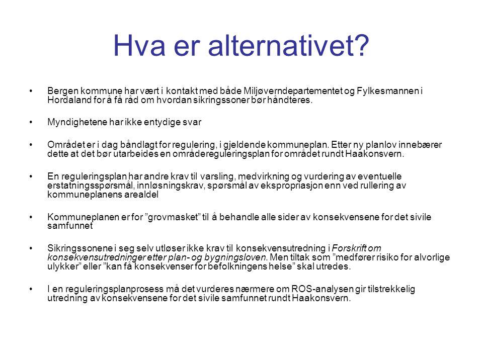 Hva er alternativet