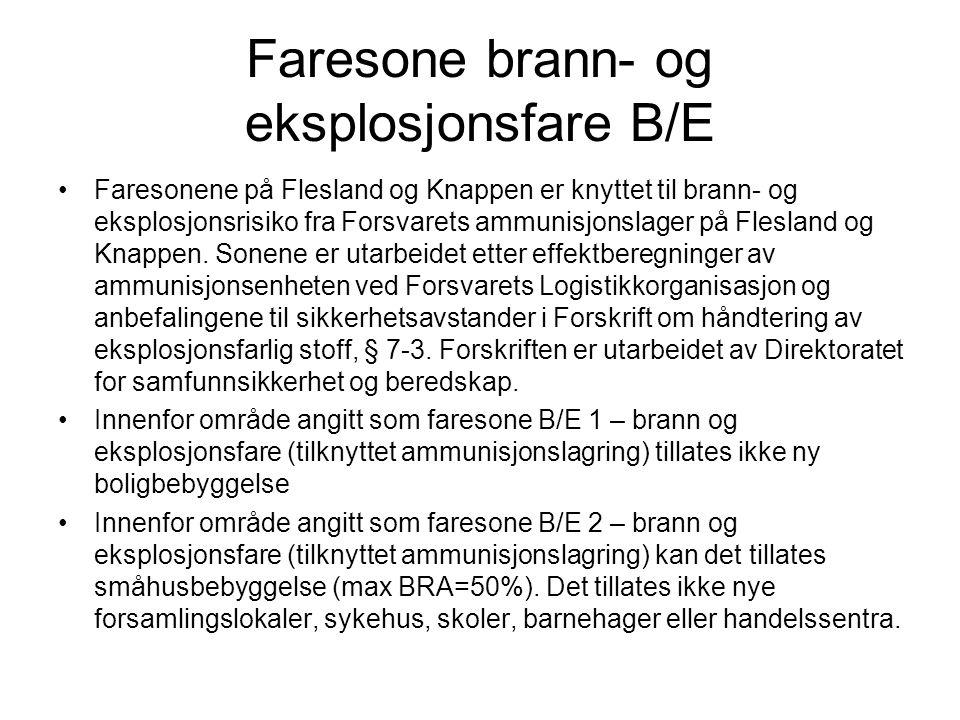 Faresone brann- og eksplosjonsfare B/E