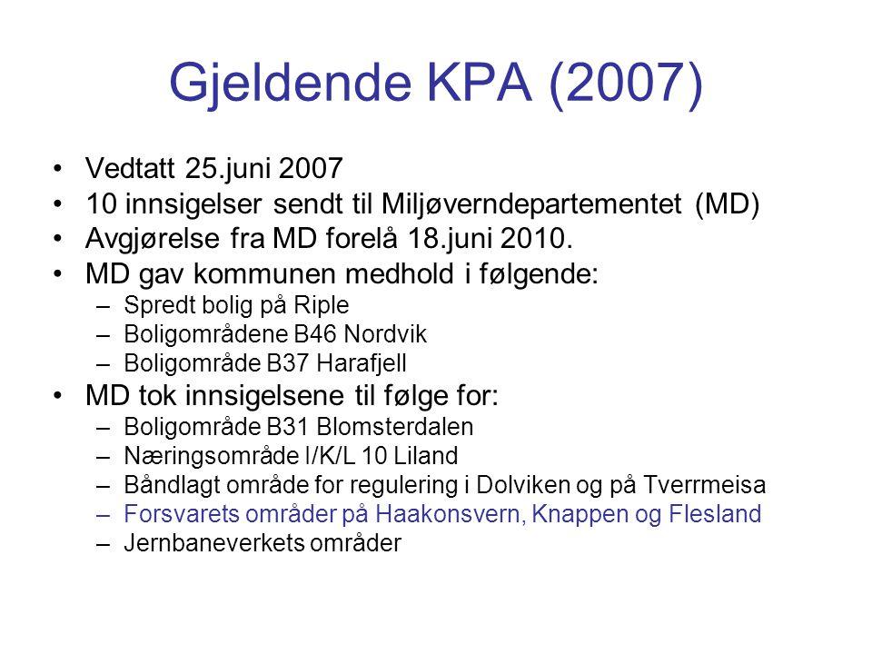 Gjeldende KPA (2007) Vedtatt 25.juni 2007